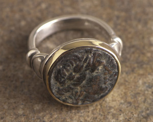 1250-SG Coin Ring
