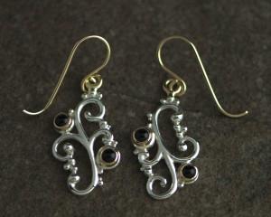 3400-sg filagree earrings