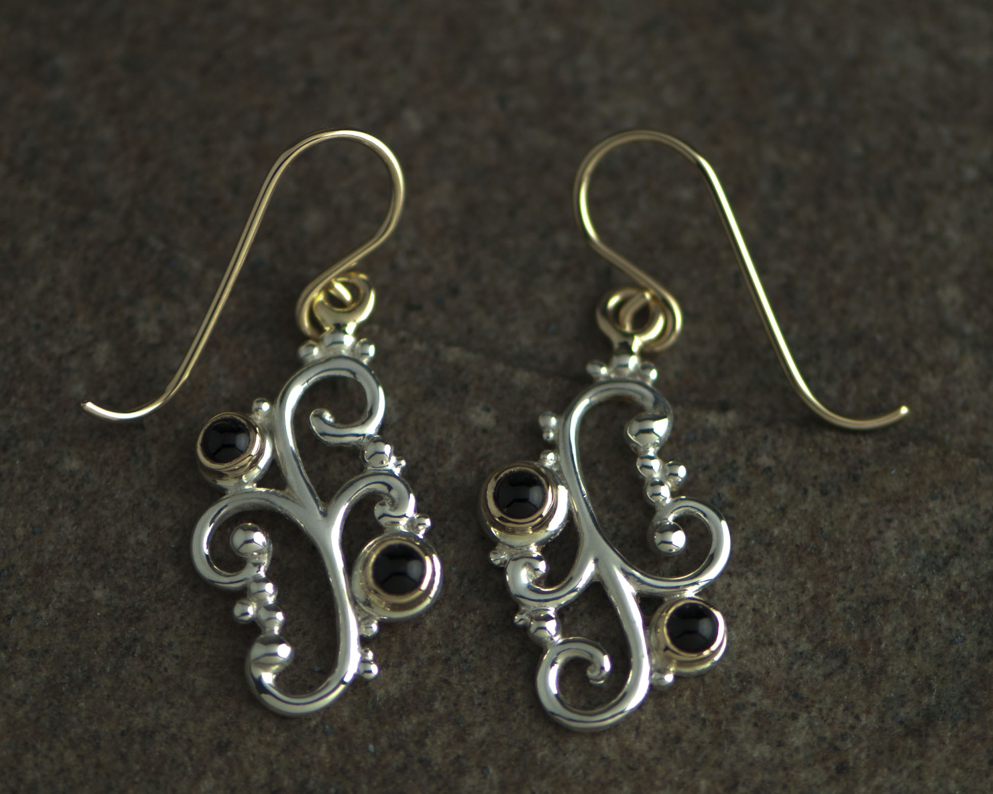 3400-sg filagree earrings