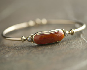 Red Jade Bangle-01
