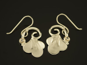 Silver Earrings-001