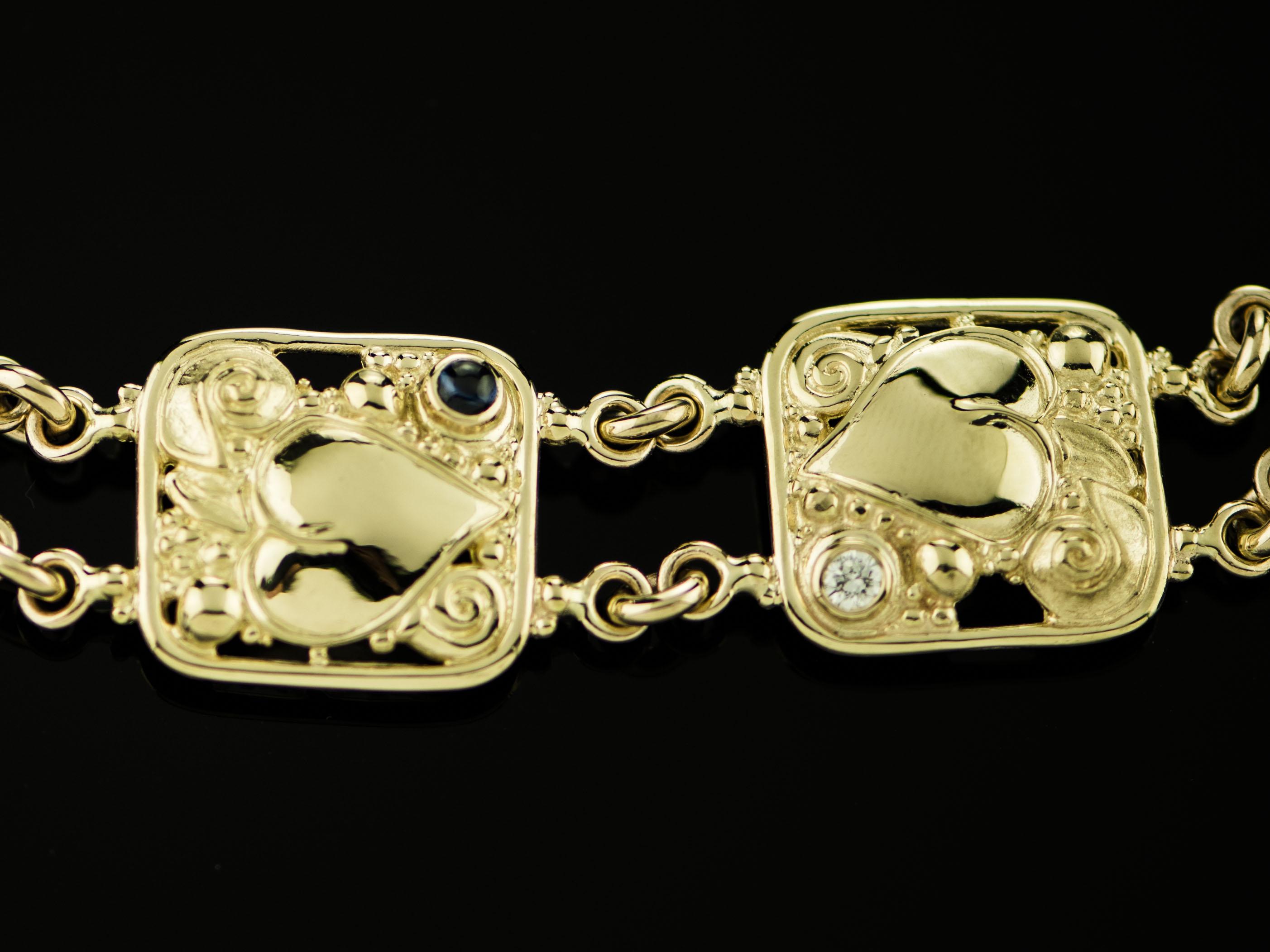 Wide Link Bracelet-01